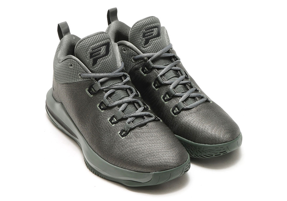 newest c57fb 7d9d1 Jordan CP3.X AE Color  River Rock Black-Metallic Silver