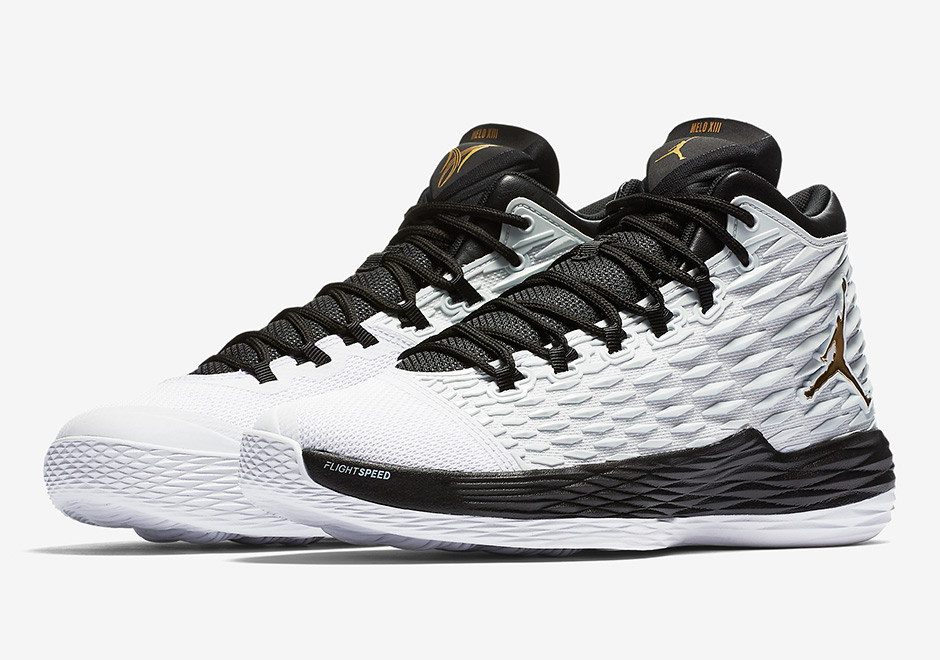 official photos 5a338 c6c5b Carmelo Anthony s Jordan MELO M13 Releasing In A BHM-Style Colorway