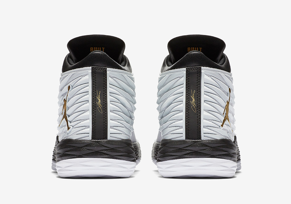 4a96f357219f4 Jordan Melo M13 AVAILABLE ON Nike.com  135. Color  White Metallic Gold-Black -Pure Platinum Style Code  881562-131. show comments