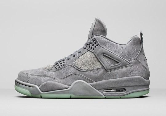 The KAWS Online Store Is Releasing The KAWS x Air Jordan 4 Soon