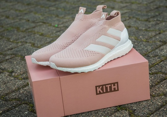 The KITH x adidas ACE16+ Ultra Boost Releases In May