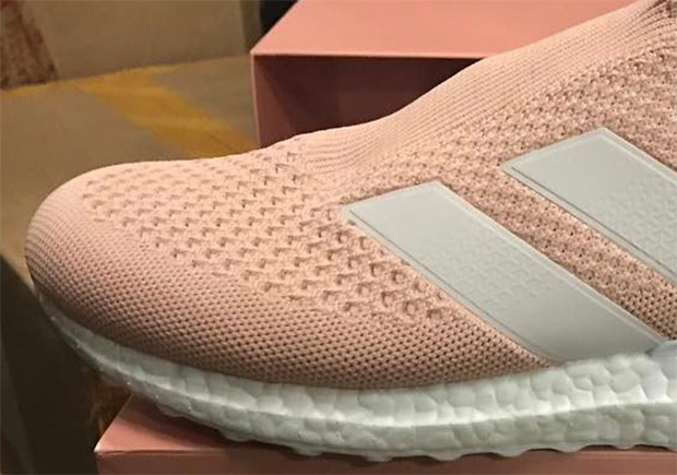 c17eed17e KITH Is Releasing The adidas ACE 16+ Ultra Boost In Pink