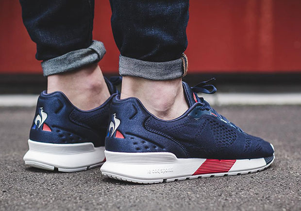 fde3e9e31b8e Le Coq Sportif gives a modern redesign to one of their most classic runners  with the LCS R Pro in engineered mesh. The upgrade to the vintage runner ...