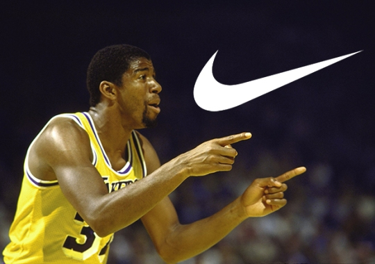 Magic Johnson Reveals That Turning Down Nike Contract Still Haunts Him Today