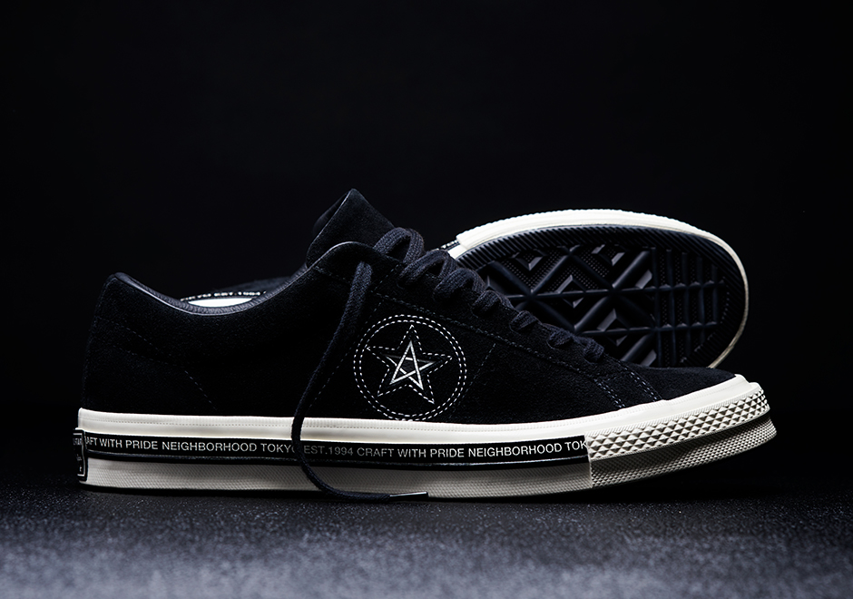 a3678eef5106 NEIGHBORHOOD x Converse One Star  74. Release Date  April 6th