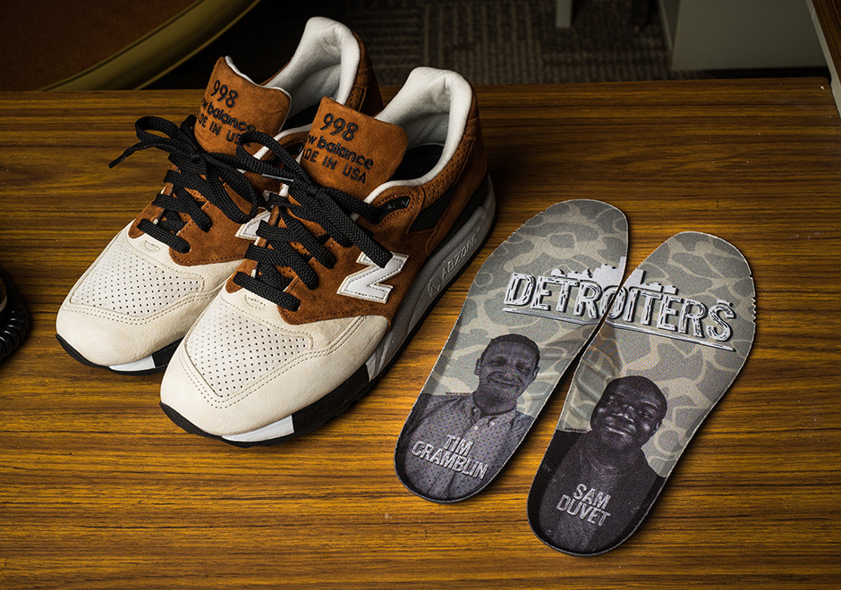 The Detroiters New Balance 998 | SneakerNews.com