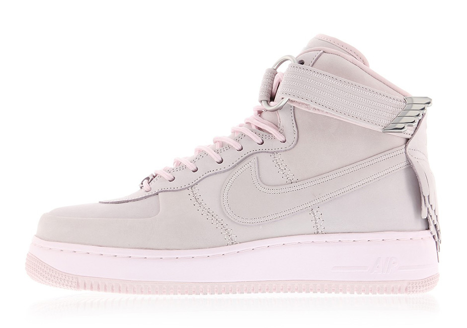 """brand new 8cdb7 c30ce Nike Air Force 1 High SL """"Easter"""" Release Date April 17th, 2017 275.  Color Pearl PinkPearl Pink-Metallic Gold Silk"""