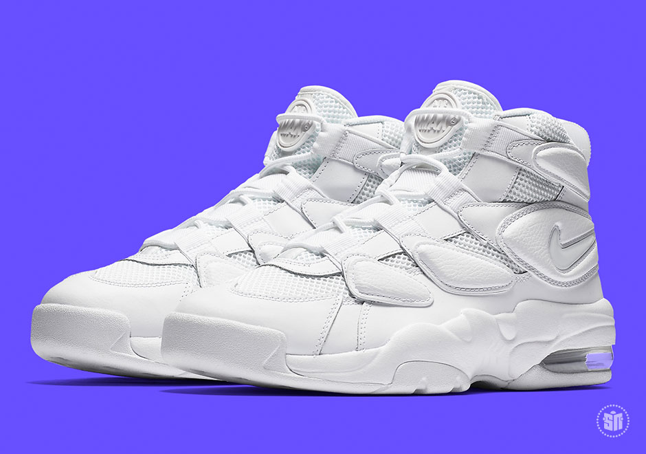 """ac223121ff718b Nike Air Max 2 Uptempo  94 """"Triple White"""" Global Release Date  May 26th"""