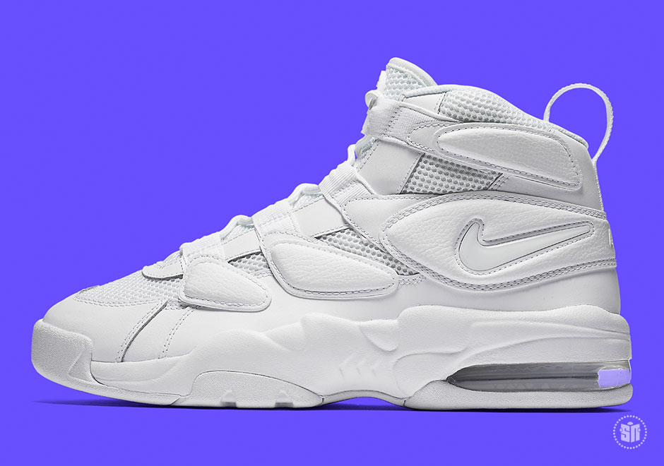 Release Info On The Nike Air Max 2 Uptempo 94 Triple White