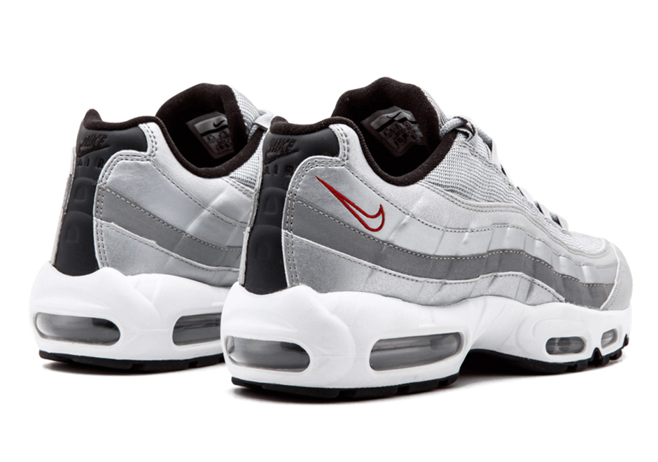 a7d1628b5d Buy nike air max 95 silver > up to 55% Discounts