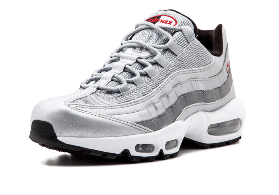 nike air max 95 silver bullet release info 918359 001. Black Bedroom Furniture Sets. Home Design Ideas