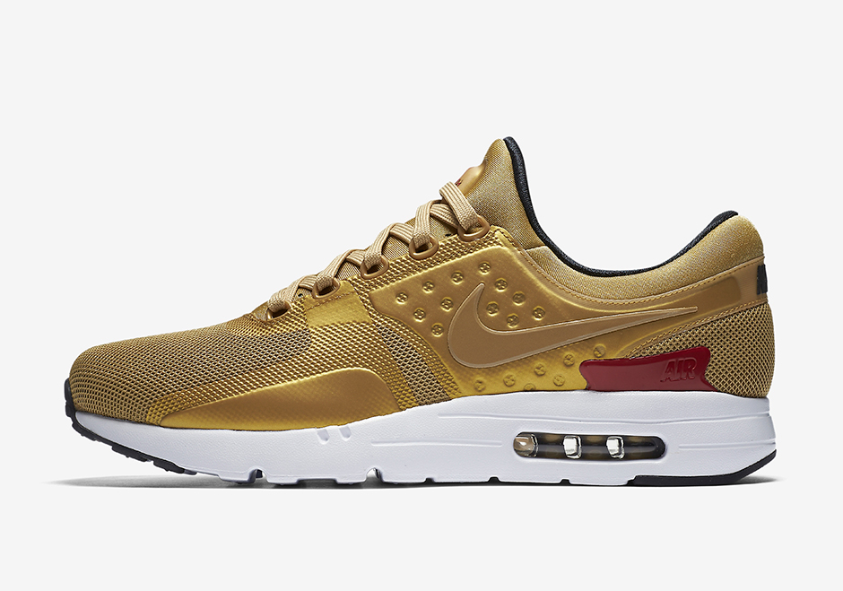 magasin d'usine 45599 af794 Nike Air Max Zero Metallic Gold 789695-700 | SneakerNews.com