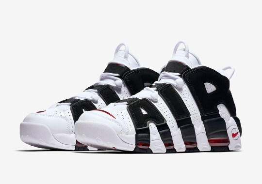 More Chicago Bulls Themes Hit The Nike Air More Uptempo