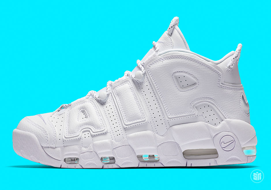 "Nike Air More Uptempo ""Triple White"" Global Release Date  May 26th 0ee378c08"