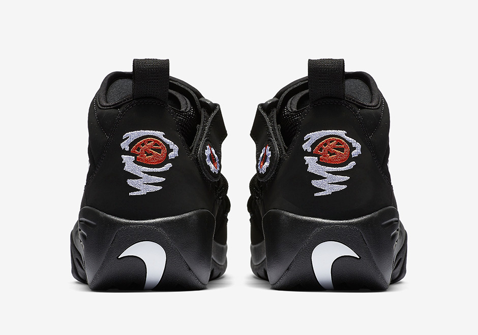 b18d446a4f7e ... Nike Air Shake Ndestrukt Sz 8 Black White 2017 Orange Dennis Rodman  880869 001 ...