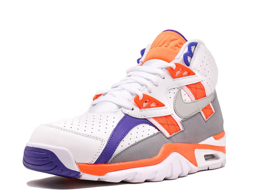 quality design 6287c 96045 Nike Air Trainer SC High 130. Color WhiteLight Zen Grey-Total Orange