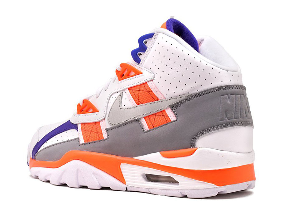 quality design 482db a887a Nike Air Trainer SC High 130. Color WhiteLight Zen Grey-Total Orange
