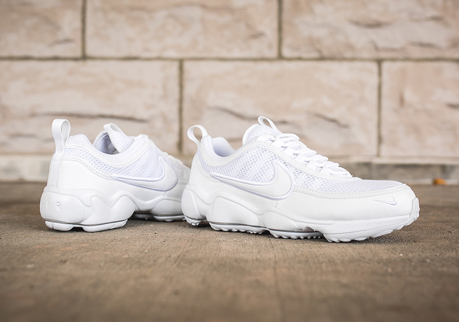 f04e76d13aaf Nike Zoom Spiridon Ultra Triple White