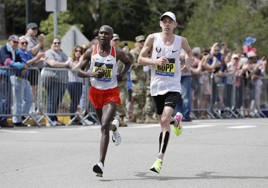Nike Dominates Boston Marathon Podium