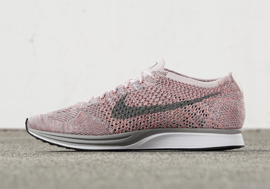separation shoes 2e8e0 8a5d0 ... sweden nike flyknit racer strawberry release date may 19th 2017 150. color  pearl pink cool