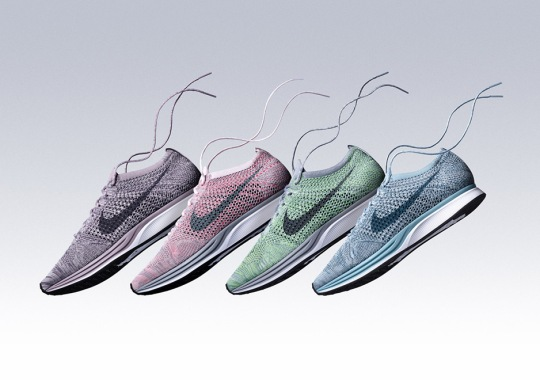 "Nike Flyknit Racer ""Macaroon"" Pack Releasing In May"