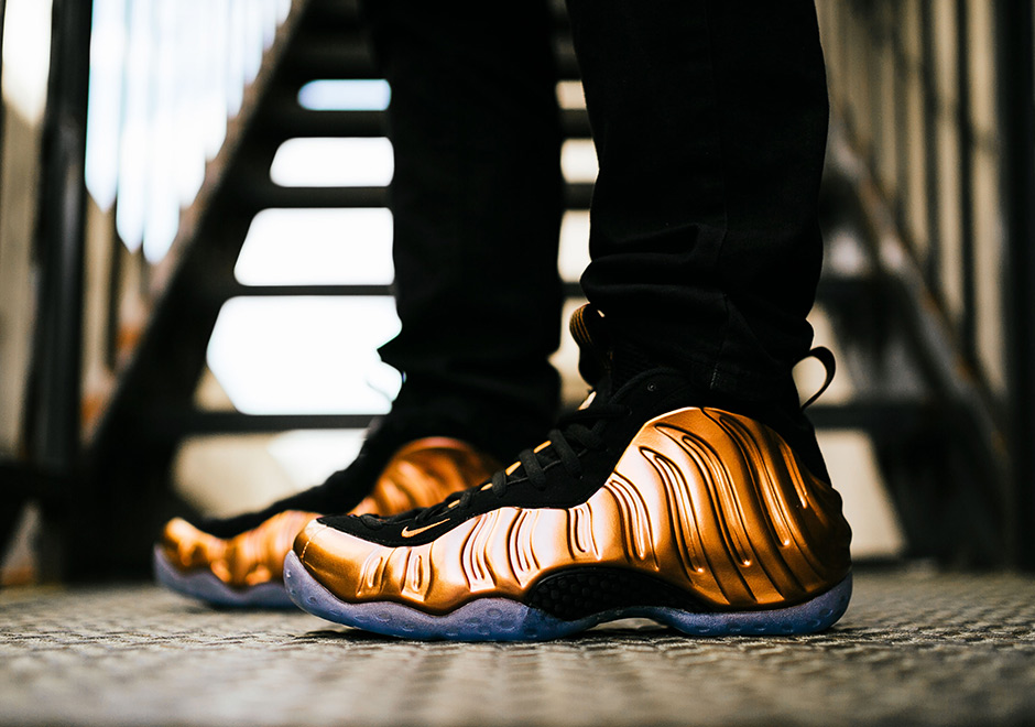 "new york 2141d 25c04 Nike Air Foamposite One ""Copper"" Color  Black Metallic Copper-Black Style  Code  314996-007. Advertisement"