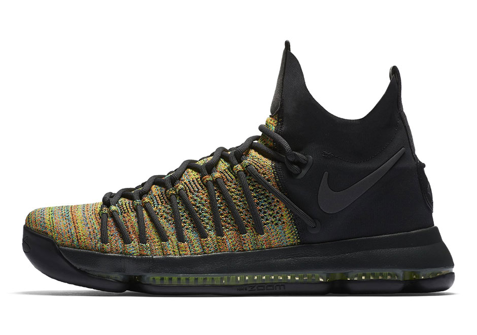 0ab42f63a53a35 Nike KD 9 Elite Multi-Color Release Date