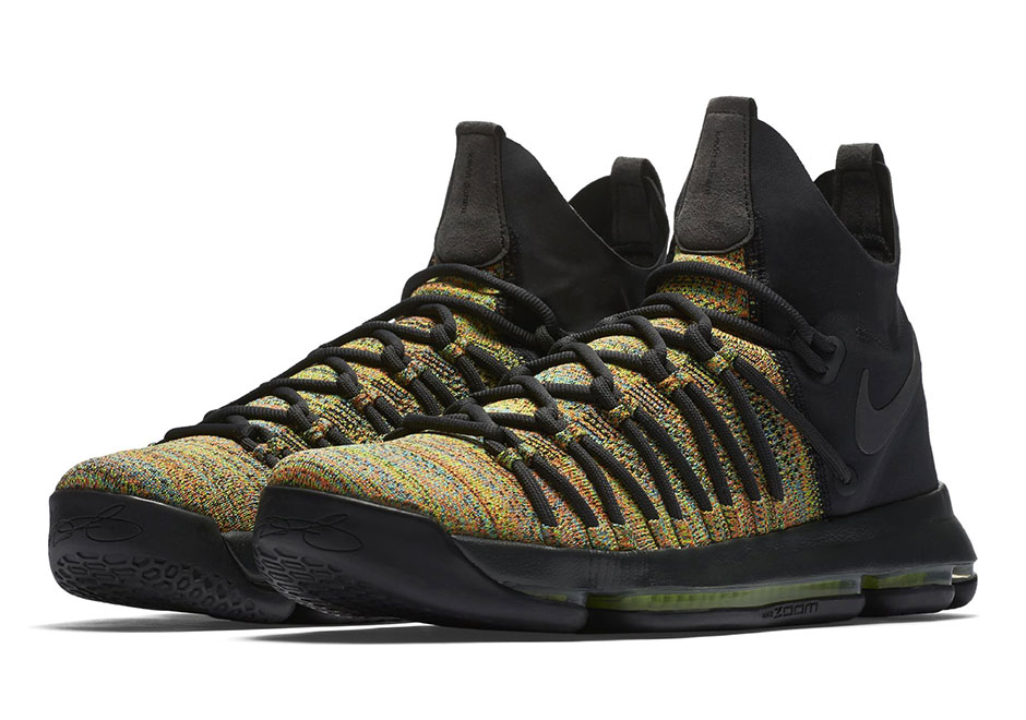"5eecf03459ba Nike KD 9 Elite ""Multi-Color"" Release Date  April 28th"