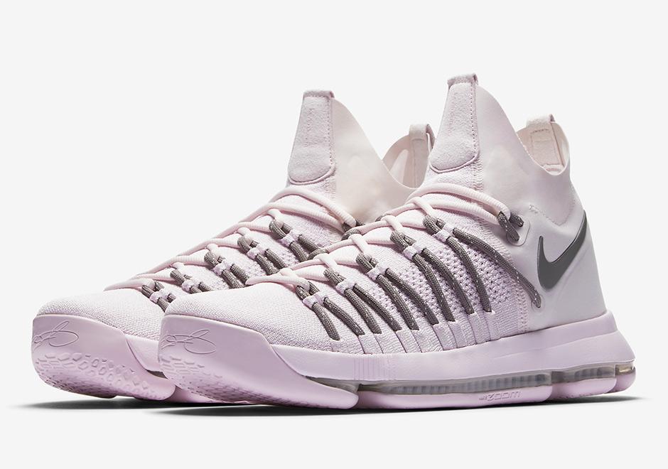 "NikeLab Releases The KD 9 Elite ""Pink Dust"""