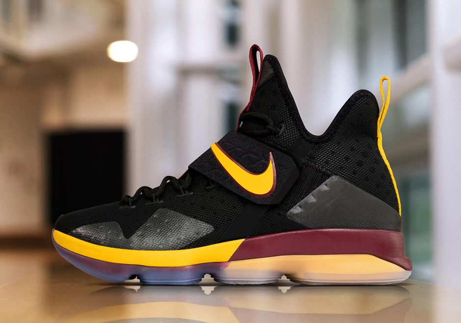 new arrival 864f5 20676 Nike LeBron 14 Alternate Playoffs PE   SneakerNews.com