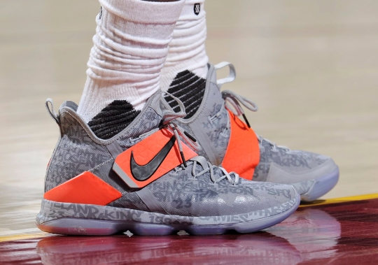 LeBron Switches Back To The LeBron 14 In Close Game 2 Win Over Pacers