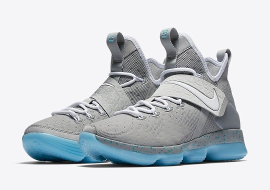 The Nike LeBron 14 Is Releasing In A Mag Colorway