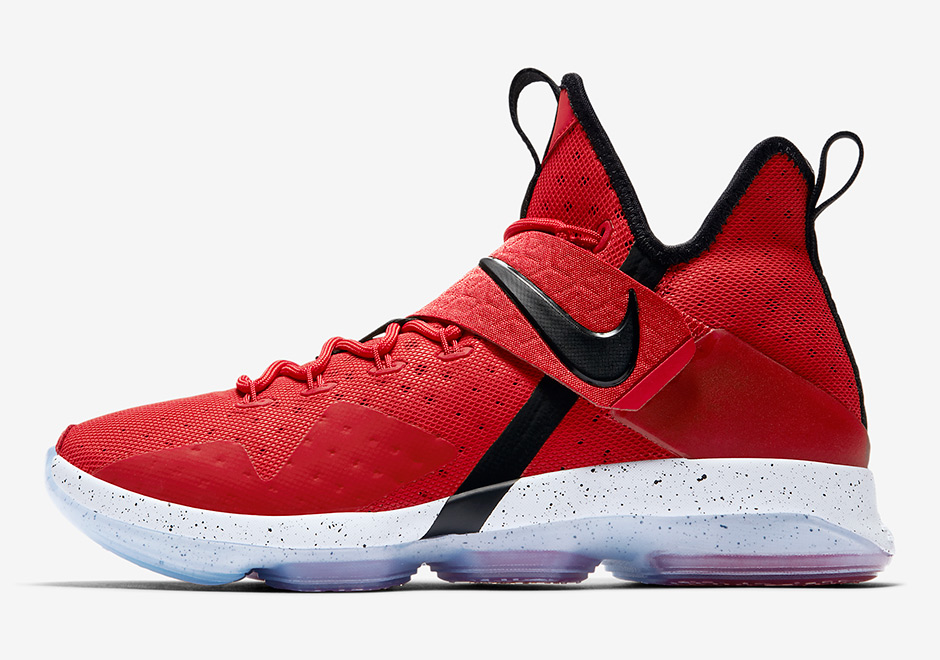 Lebron James Shoes Nike Red