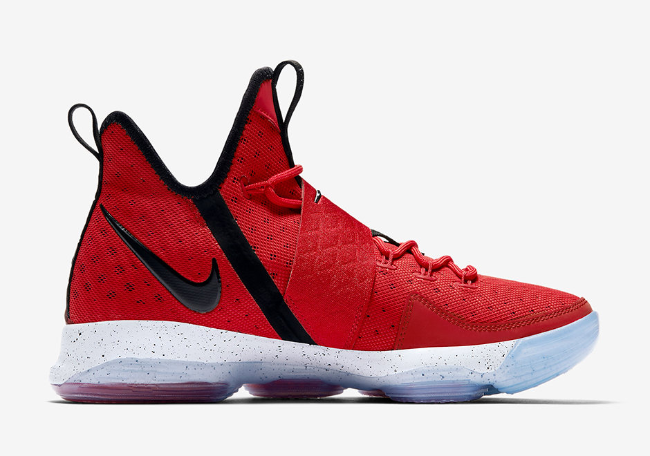 detailed look 53faa cb15d ... black 9d59e 7f54c switzerland nike lebron 14 red brick road release  date april 15th 2017 175. color university ...