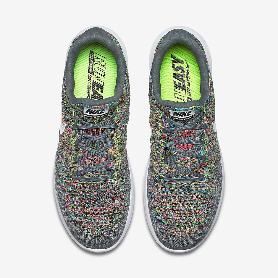 buy popular 0f5b6 e34b5 ... Nike Womens Lunarepic Low Flyknit 2 Running Trainers 863780 Sneakers  001 ...