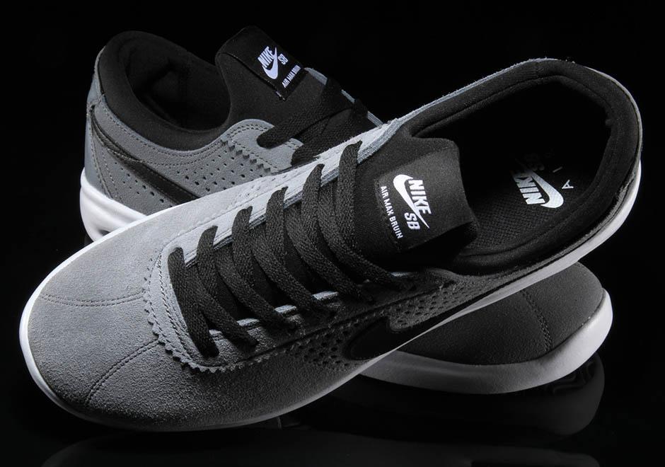 classic fit fcf37 7cb05 ... Shoes - thumbnail 5 Nike SB Air Max Bruin Vapor 100. Color Summit  WhiteBlack-White .