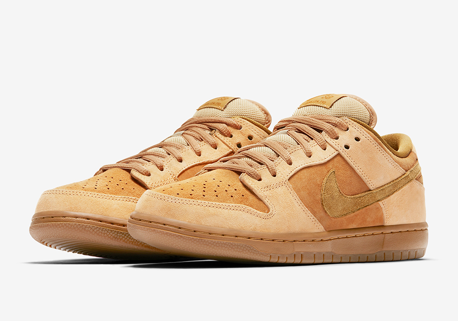 591a6b589fb Nike SB Dunk Low Wheat May 2017 Release | SneakerNews.com