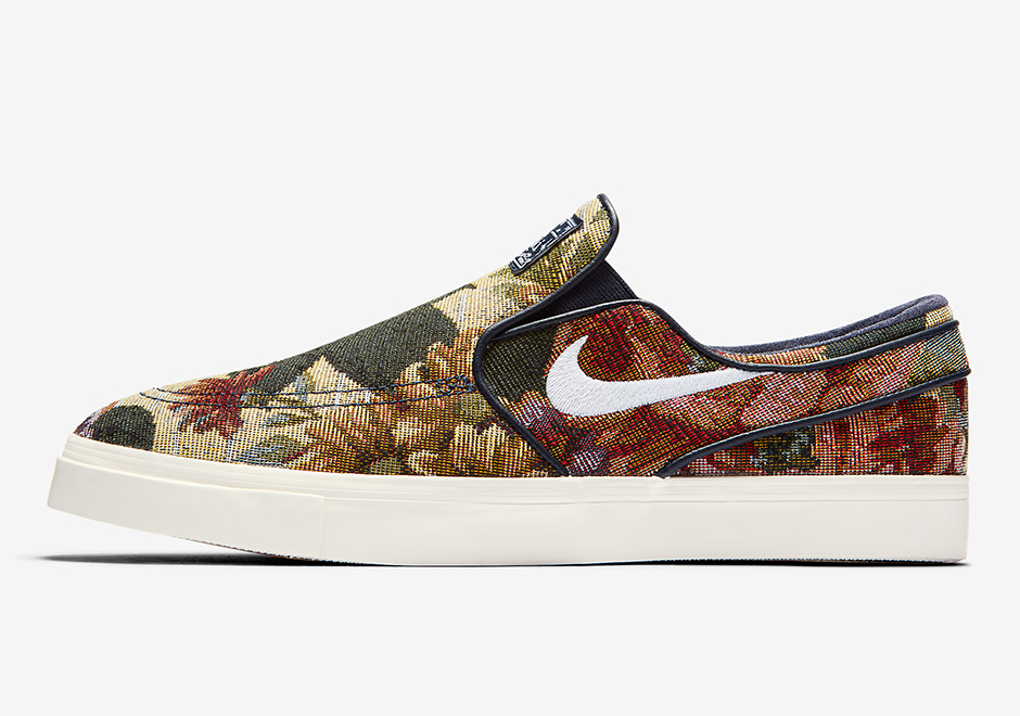 The Nike SB Janoski Slip-On Brings In A New Floral Upper