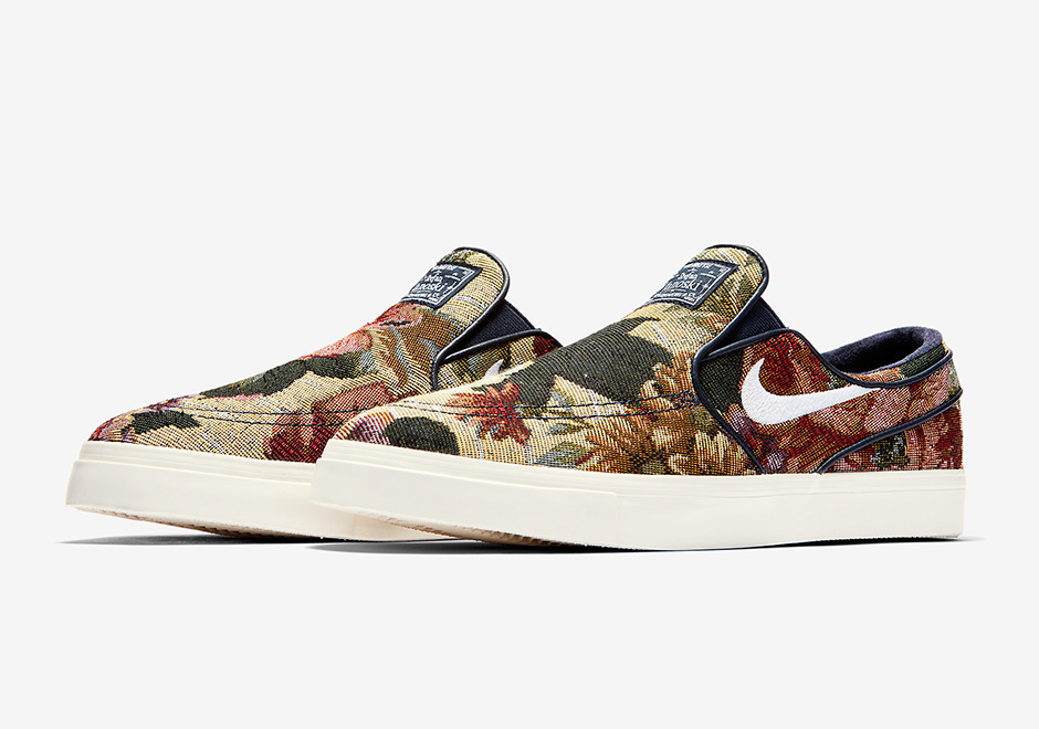"huge selection of 5af5c add40 ... Nike SB Zoom Stefan Janoski Slip-On ""Floral"" Release Date April 13th,  ..."