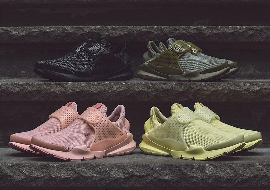 hot sale online b025c e7b6e Nike Sock Dart BR Monochrome Pack Spring 2017 | SneakerNews.com