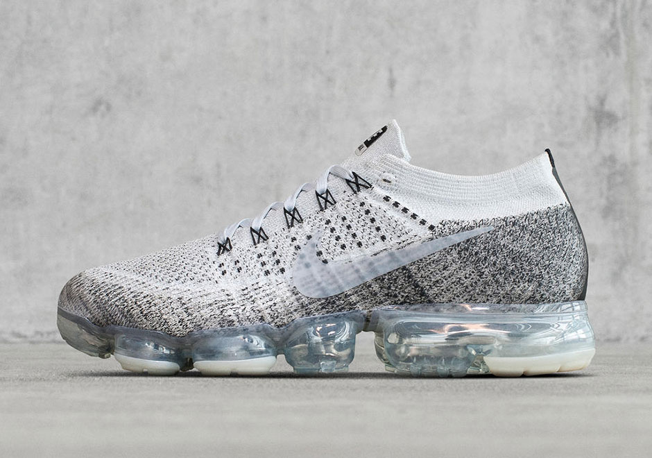 Buy Nike Air Vapormax Black Gary White Sneakers , from Nike Design