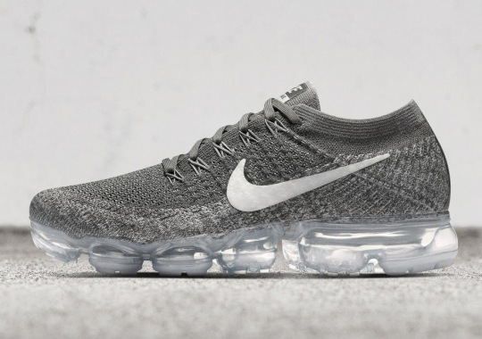 "The Next Nike VaporMax Flyknit Release Is The ""Asphalt"" Colorway"