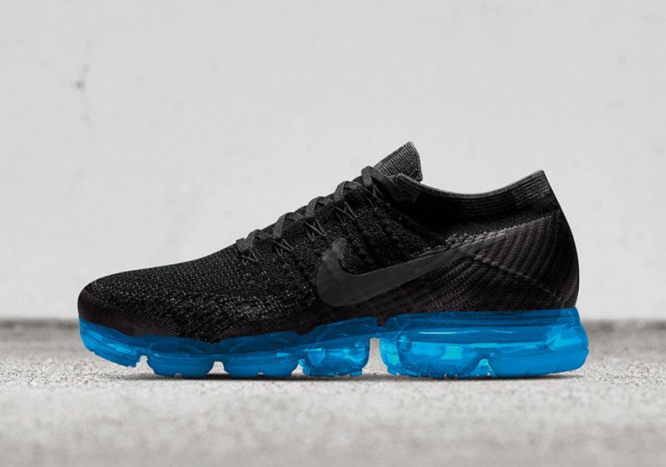 Nike VaporMax NIKEiD Black Upper Color