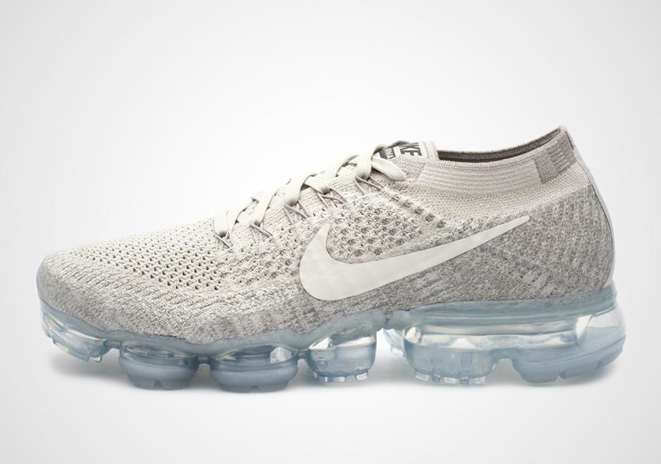 separation shoes 61e05 6169b Nike VaporMax Pale Grey Release Date 849557-005 ...