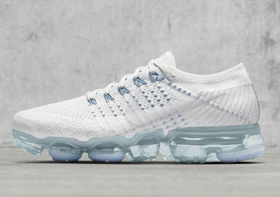new product cd377 724a1 Nike VaporMax White Blue WMNS Release Date 899472-002 ...