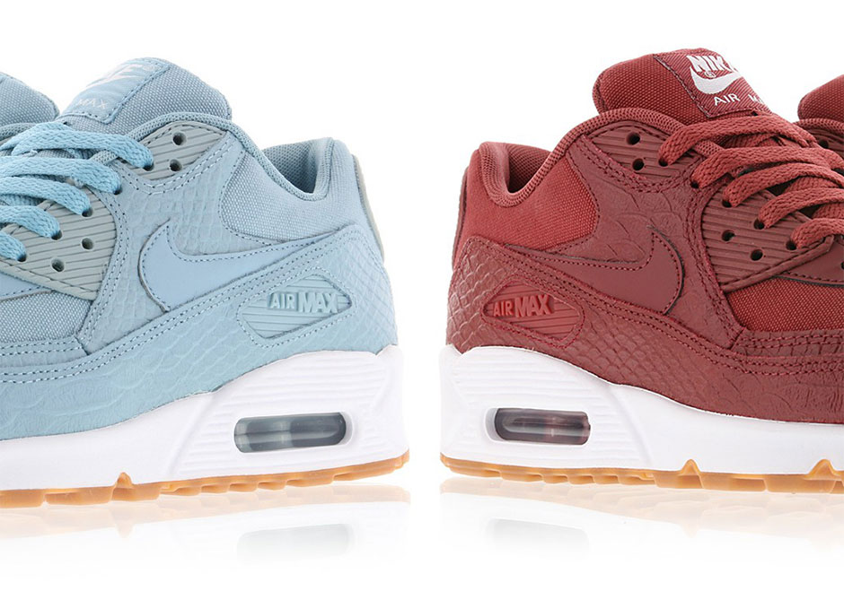 separation shoes 189a3 43f15 Nike WMNS Air Max 90 Snakeskin 896497-601   SneakerNews.com