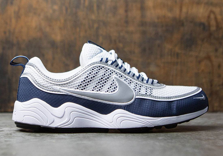 "fbb29a568bac Nike Zoom Spiridon QS ""Summer Pack"" Available Now via BAIT  150. Color   White Silver-Light Midnight Style Code  849776-103"