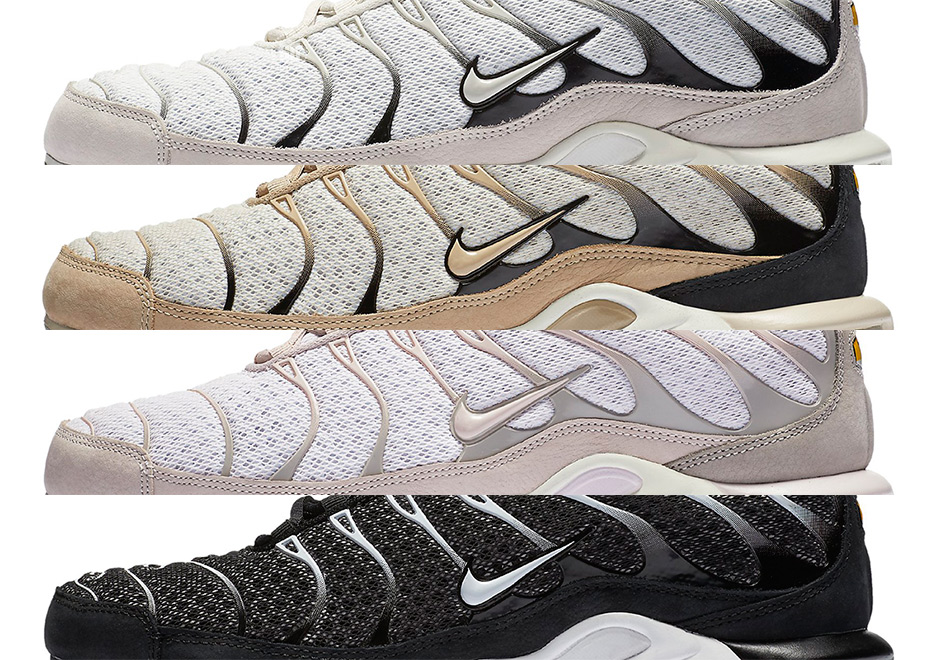 wholesale dealer 29f45 68684 The Nike Air Max Plus gets some of its most refined makeovers ever with  this latest set of colorways compliments of NikeLab, featuring tech-mesh  bases with ...