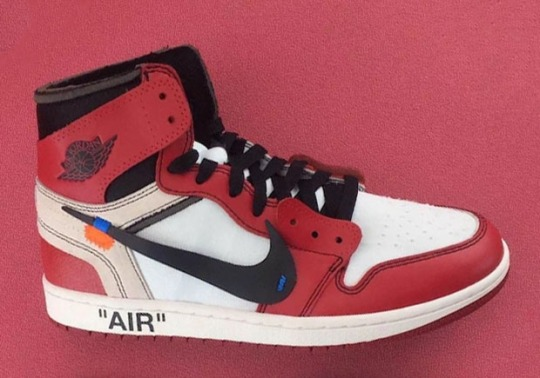 Here's A Detailed Look at OFF WHITE's Avant-Garde Air Jordan 1
