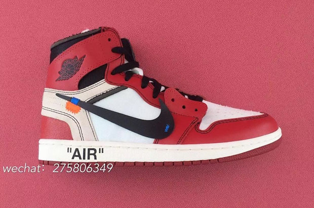 huge selection of 3e717 ec1aa OFF WHITE Air Jordan 1 Chicago Detailed Photos | SneakerNews.com